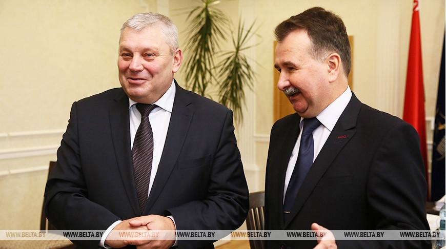Мечислав Гой и Владимир Миколаенко
