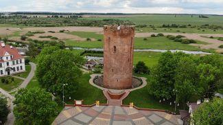 Белая Вежа (город Каменец, Брестская область). Фото из архива