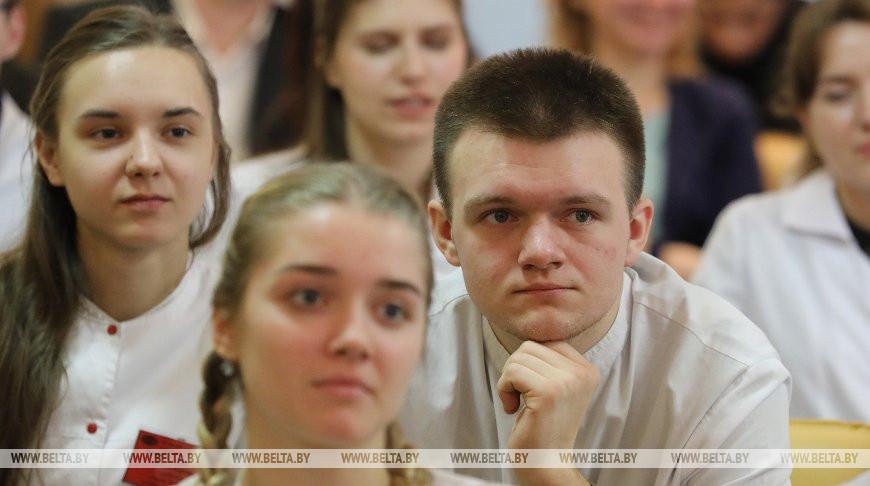 Студенты Витебского государственного медицинского университета