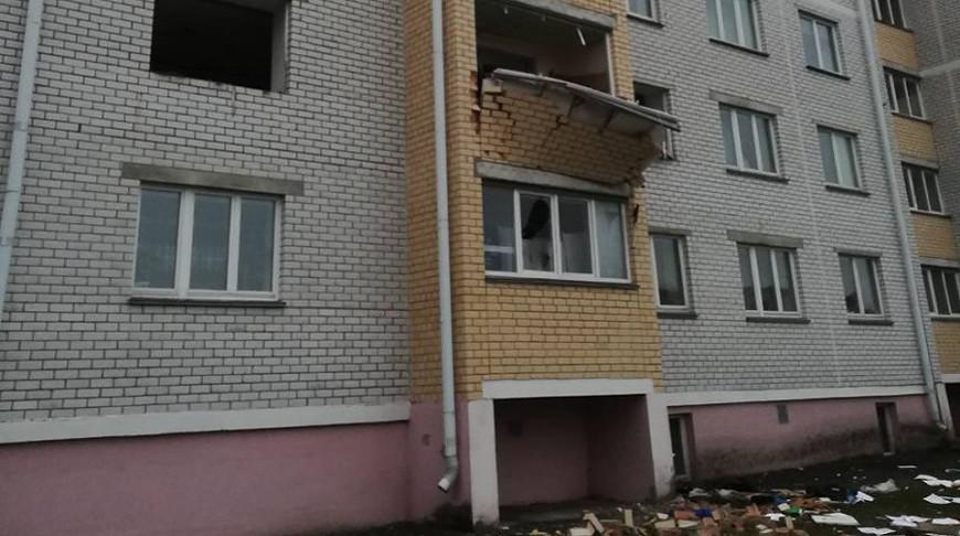 Дом после взрыва. Фото МЧС