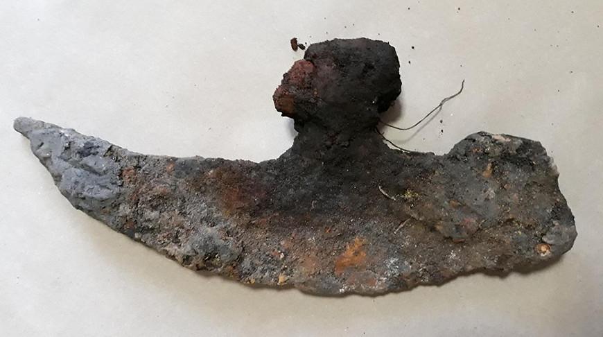Оружие XVI-XVIІ веков нашли во время археологического надзора в Дисне