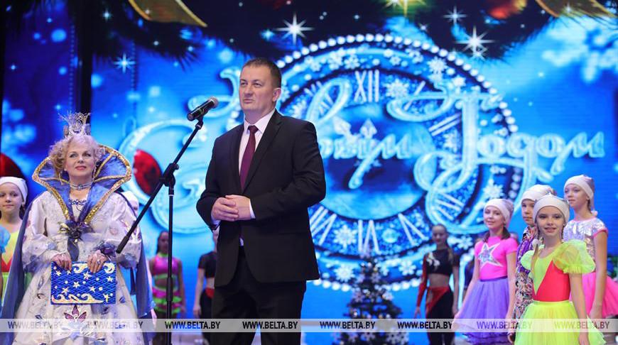 Александр Турчин во время праздника