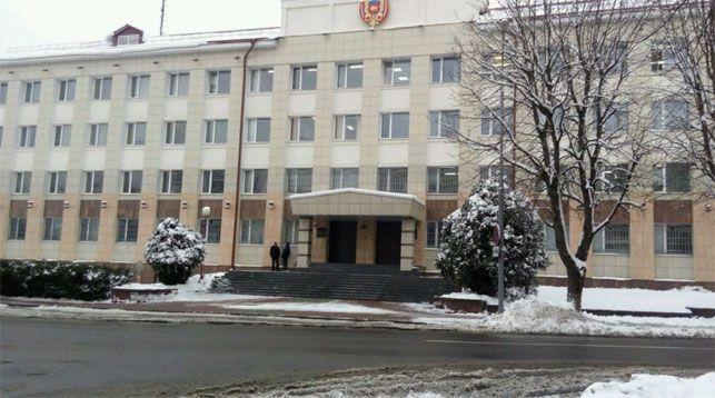 УВД Брестского облисполкома. Фото Яндекс.Карты