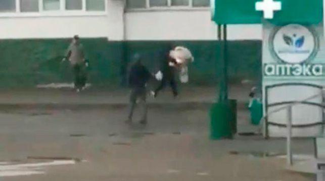 Скиншот из видео УВД Гомельского облисполкома