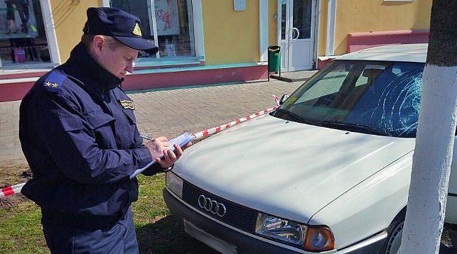 На месте происшествия. Фото из Telegram-канал Следственного комитета Беларуси