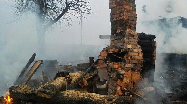 На месте происшествия. Фото Витебского областного УМЧС