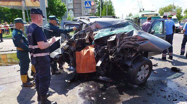 На месте происшествия. Фото из Telegram-канала Следственного комитета Беларуси