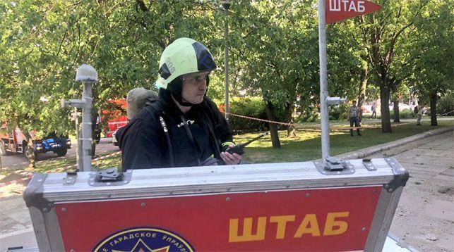 Фото Twitter-аккаунта МЧС Минска