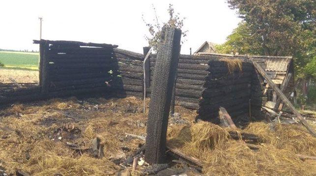 Место происшествия. Фото Гродненского областного управления Департамента охраны