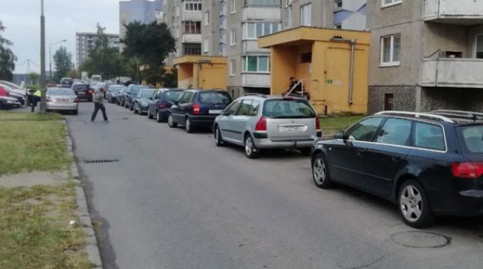 Место происшествия. Фото из VK-аккаунта УГАИ УВД Гродненского облисполкома