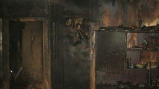 Место происшествия. Фото Витебского областного УМЧС