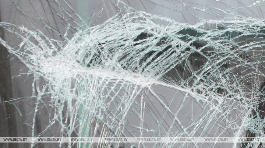 Два грузовика столкнулись в Пинском районе