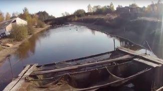 Скриншот из оперативного видео УВД Брестского облисполкома