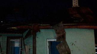 Место происшествия. Фото Гродненского областного управления МЧС