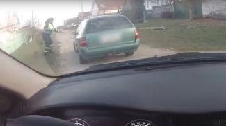 Скриншот из видео УГАИ МВД