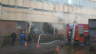 На месте происшествия. Фото Минского городского управления МЧС