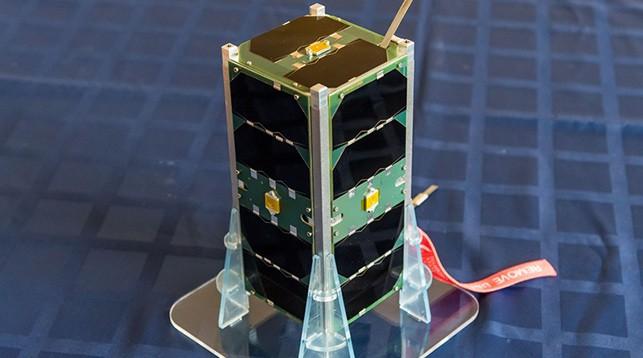 Наноспутник БГУ BSUSat-1. Фото БГУ