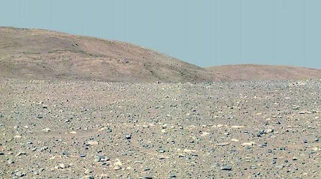 Поверхность Марса. Фото НАСА