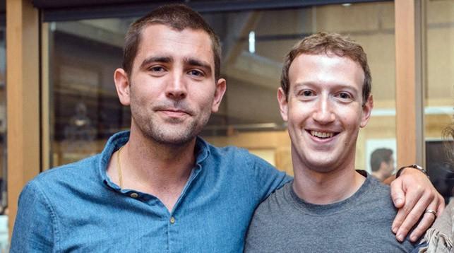 Крис Кокс и Марк Цукерберг. Фото из Facebook-аккаунта Chris Cox