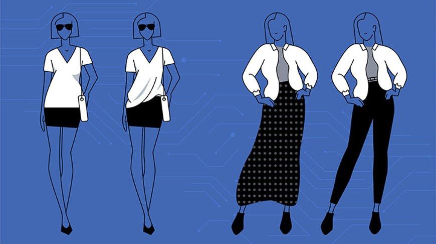 Facebook поможет пользователю подобрать идеальный наряд