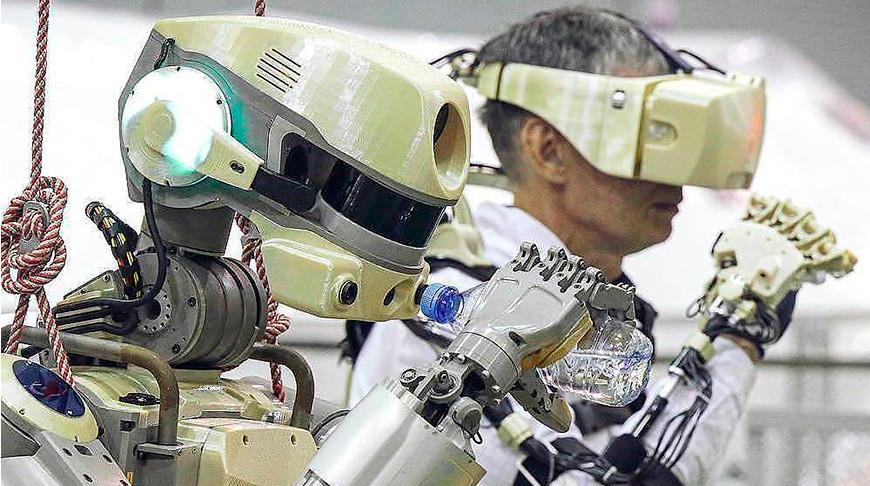 """Робот """"Федор"""". Фото """"Роскосмос"""""""