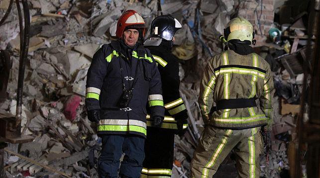 На месте происшествия. Фото ТАСС