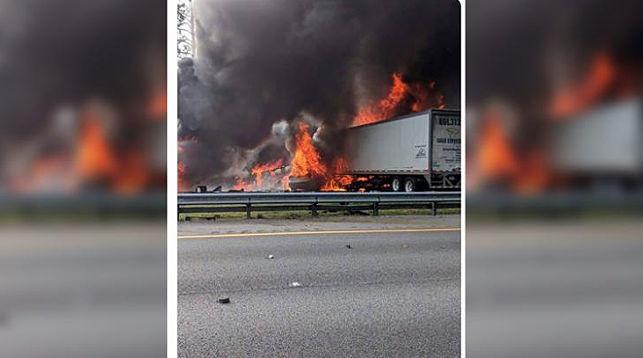 На месте происшествия. Фото Alachua County Fire Rescue