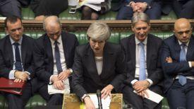 Выступает Тереза Мэй. Фото UK Parliament
