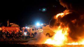 На месте происшествия. Фото AFP - Getty Images