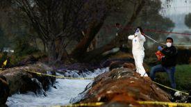 На месте происшестия. Фото Reuters