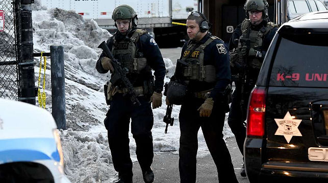 На месте происшествия. Фото   AP