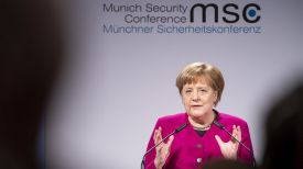 Ангела Меркель. Фото из Twitter-аккаунта The Munich Security Conference (MSC)