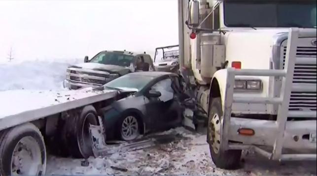 Скриншот из видео с телеканала CTV