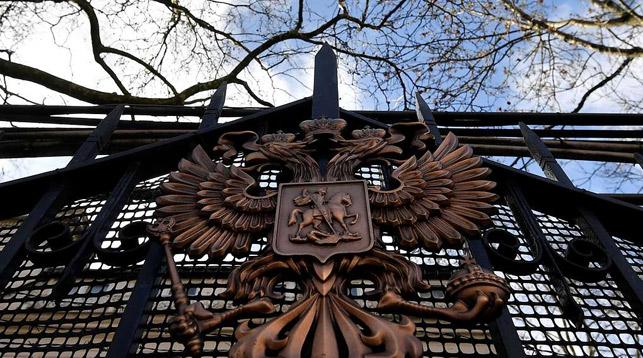Здание посольства РФ в Великобритании. Фото   Reuters