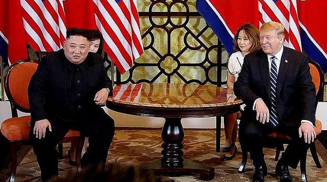Ким Чен Ын и Дональд Трамп. Фото   EPA