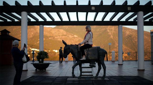 Британские туристы в Испании. Фото Reuters