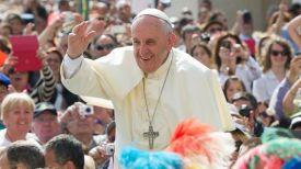 Фото из Twitter-аккаунта Pope Francis