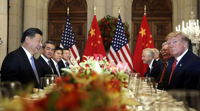 Си Цзиньпин и Дональд Трамп. Фото   AP
