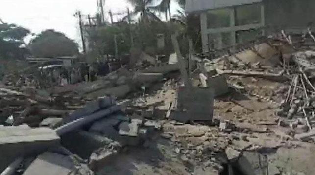 На месте происшествия. Фото Hindustan Times