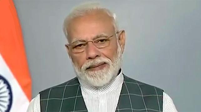 Нарендра Моди. Скриншот из видео Times of India