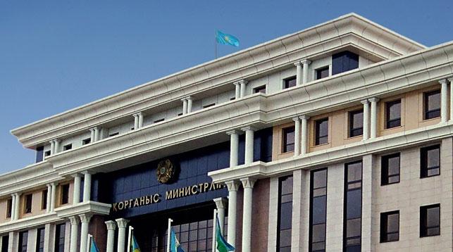 Фото Министерства обороны Казахстана