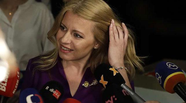 Зузана Чапутова. Фото   AP