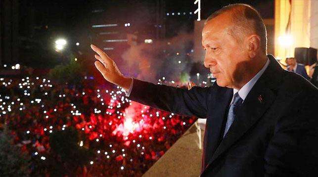 Реджеп Тайип Эрдоган. Фото Агентства Анадолу