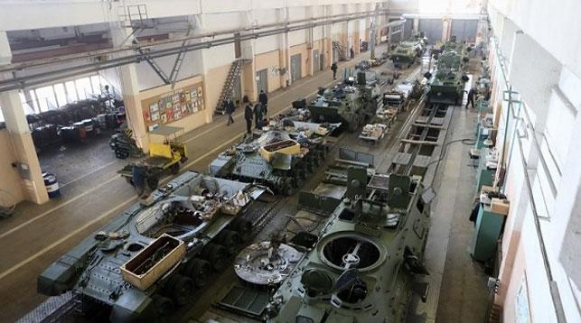 Бронетанковый завод. Фото УКРИНФОРМ