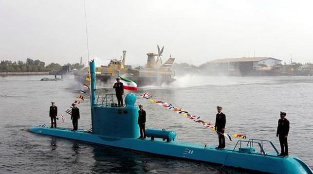 Аналогичная подводная лодка Ирана. Фото   EPA