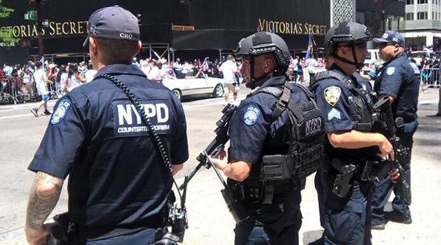 Фото Facebook-аккаунта NYPD