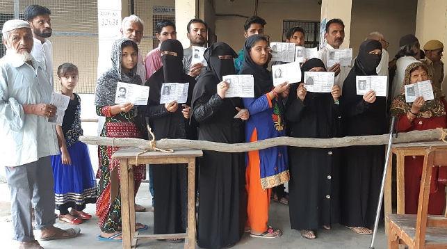 Избиратели. Фото   ANI