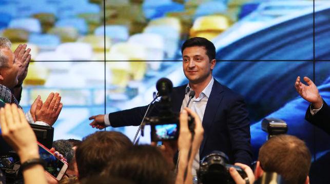 Владимир Зеленский. Фото Синьхуа - БЕЛТА