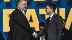 Петр Порошенко и Владимир Зеленский. Фото УКРИНФОРМ