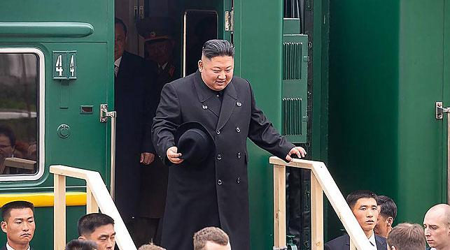 Ким Чен Ын. Фото ТАСС